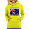 Australian Blues- Written With Blood Womens Hoodie