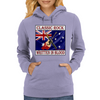 Australian Classic Rock- Written In Blood Womens Hoodie