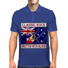 Australian Classic Rock- Written With Blood Mens Polo