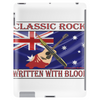 Australian Classic Rock, Written With Blood Tablet (vertical)
