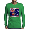 Australian Country Music- Written in Blood Mens Long Sleeve T-Shirt