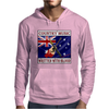 Australian Country Music - Written With Blood Mens Hoodie