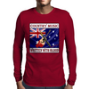 Australian Country Music - Written With Blood Mens Long Sleeve T-Shirt