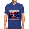 Australian Country Music - Written With Blood Mens Polo