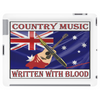 Australian Country Music, Written With Blood Tablet (horizontal)