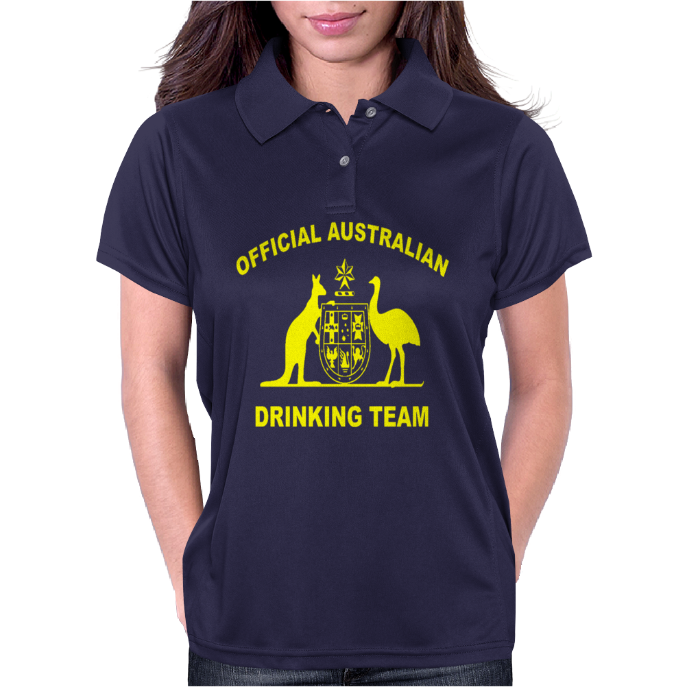 AUSTRALIAN DRINKING TEAM Womens Polo