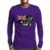 Australian Motorcycle Speedway Mens Long Sleeve T-Shirt