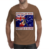 Australian Music - Written In Blood Mens T-Shirt