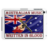 Australian Music, Written In Blood Tablet (horizontal)