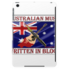 Australian Music, Written In Blood Tablet (vertical)