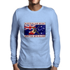 Australian Music, Written With Blood Mens Long Sleeve T-Shirt