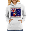 Australian Music-Written With Blood Womens Hoodie