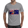 Australian Rock and Roll, Written In Blood Mens T-Shirt