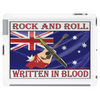 Australian Rock and Roll, Written In Blood Tablet (horizontal)