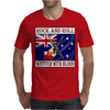 Australian Rock and Roll-Written With Blood Mens T-Shirt