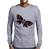 Authentic Aboriginal Arts - Butterfly Mens Long Sleeve T-Shirt