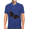 Authentic Aboriginal Arts - Butterfly Mens Polo