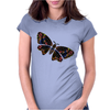 Authentic Aboriginal Arts - Butterfly Womens Fitted T-Shirt