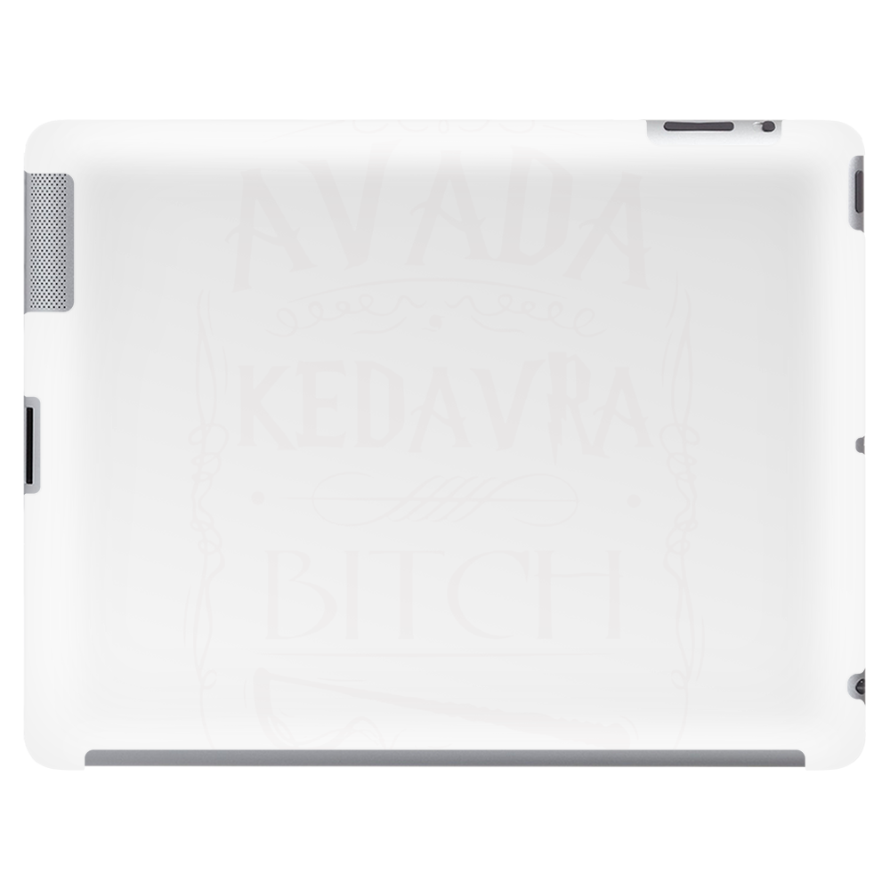 Avada Kedavra Bitch Funny HP Cool Tablet