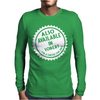 Available In Sober - Funny Mens Long Sleeve T-Shirt
