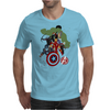 Avengers Age Of Ultron group shot Mens T-Shirt