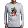 Avengers Age of Ultron Group shot outlined Mens Long Sleeve T-Shirt