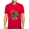 Avengers Age of Ultron Group shot outlined Mens Polo