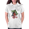 Avengers Age of Ultron Group shot outlined Womens Polo