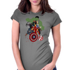 Avengers Age Of Ultron group shot Womens Fitted T-Shirt