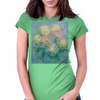 Awakening (Sisters). Chrysanthemum bouquet Womens Fitted T-Shirt