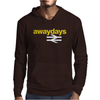 Away Days Football Casual Mens Hoodie