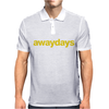 Away Days Football Casual Mens Polo