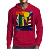 Awesome Abstract Art Sailboats in the Sun Original Mens Hoodie