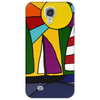Awesome Abstract Art Sailboats in the Sun Original Phone Case