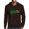 Awesome and Funny Crocodile Art Abstract Original Mens Hoodie