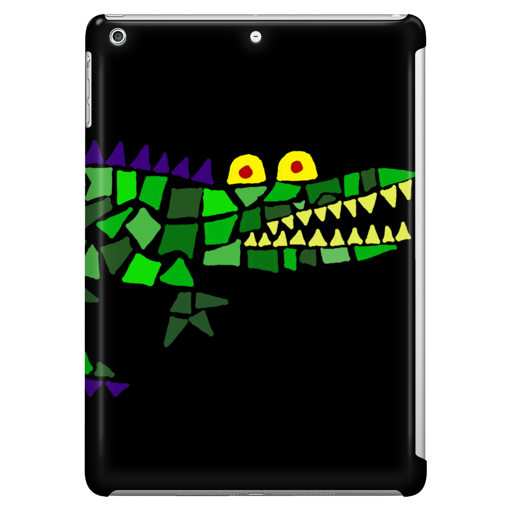 Awesome and Funny Crocodile Art Abstract Original Tablet
