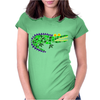 Awesome and Funny Crocodile Art Abstract Original Womens Fitted T-Shirt