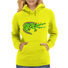 Awesome and Funny Crocodile Art Abstract Original Womens Hoodie