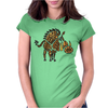 Awesome Artisitic Warthog Abstract Art Original Womens Fitted T-Shirt