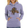 Awesome Artisitic Warthog Abstract Art Original Womens Hoodie