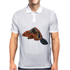 Awesome artistic beaver tribal art style original Mens Polo