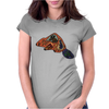 Awesome artistic beaver tribal art style original Womens Fitted T-Shirt