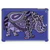 Awesome Artistic Blue and Purple Hippo Abstract Art Tablet