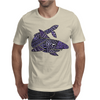 Awesome Artistic Blue Shark Abstract Mens T-Shirt