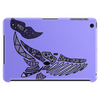 Awesome Artistic Blue Whale Abstract Art Tablet