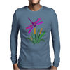Awesome Artistic Dragonfly Abstract Art Mens Long Sleeve T-Shirt