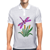 Awesome Artistic Dragonfly Abstract Art Mens Polo