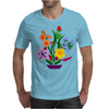 Awesome Artistic Floral Abstract Art Arrangement Mens T-Shirt
