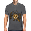 Awesome Artistic Flying Owl Abstract Art Mens Polo