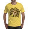 Awesome Artistic Flying Owl Abstract Art Mens T-Shirt